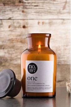 Raw One Soy Candle