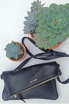The Goods Co Leather Cross Body Bag