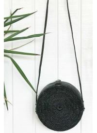 Alilia The Label Round Rattan Bag