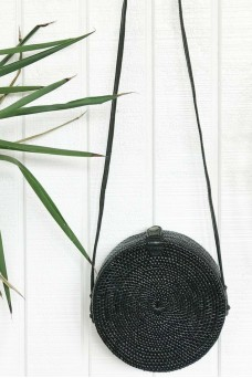 Alilia The Label Round Rattan Bag