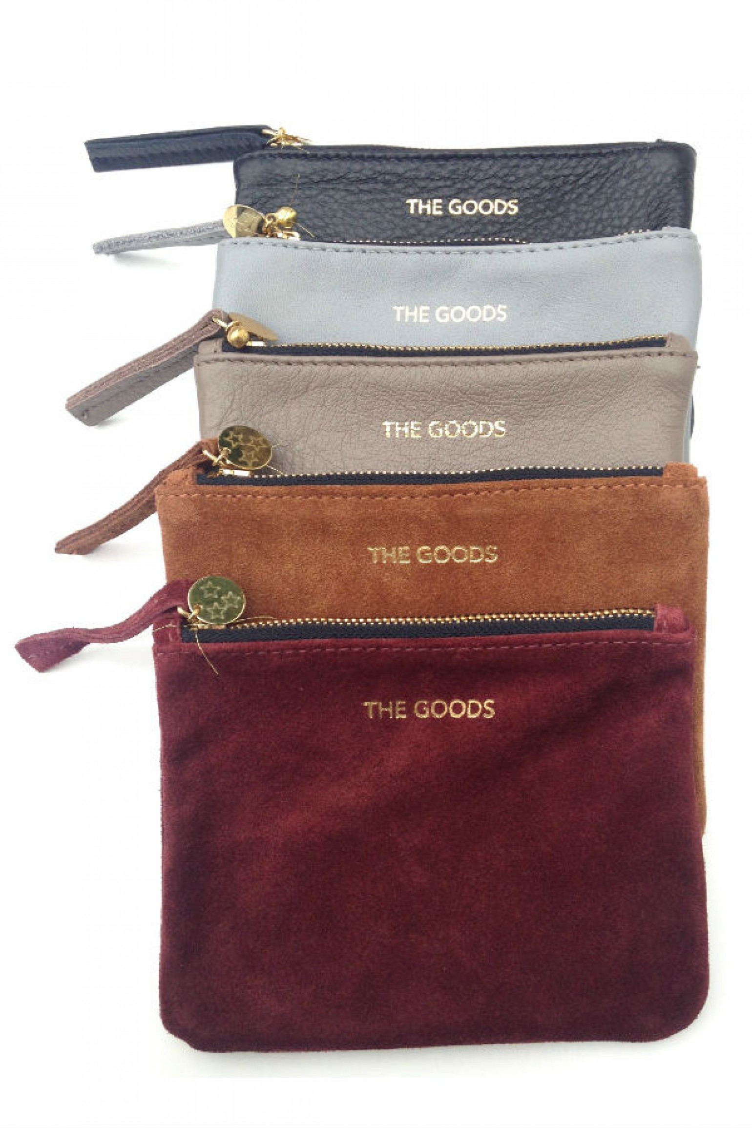 The Goods Co Mini Masala Suede Clutch