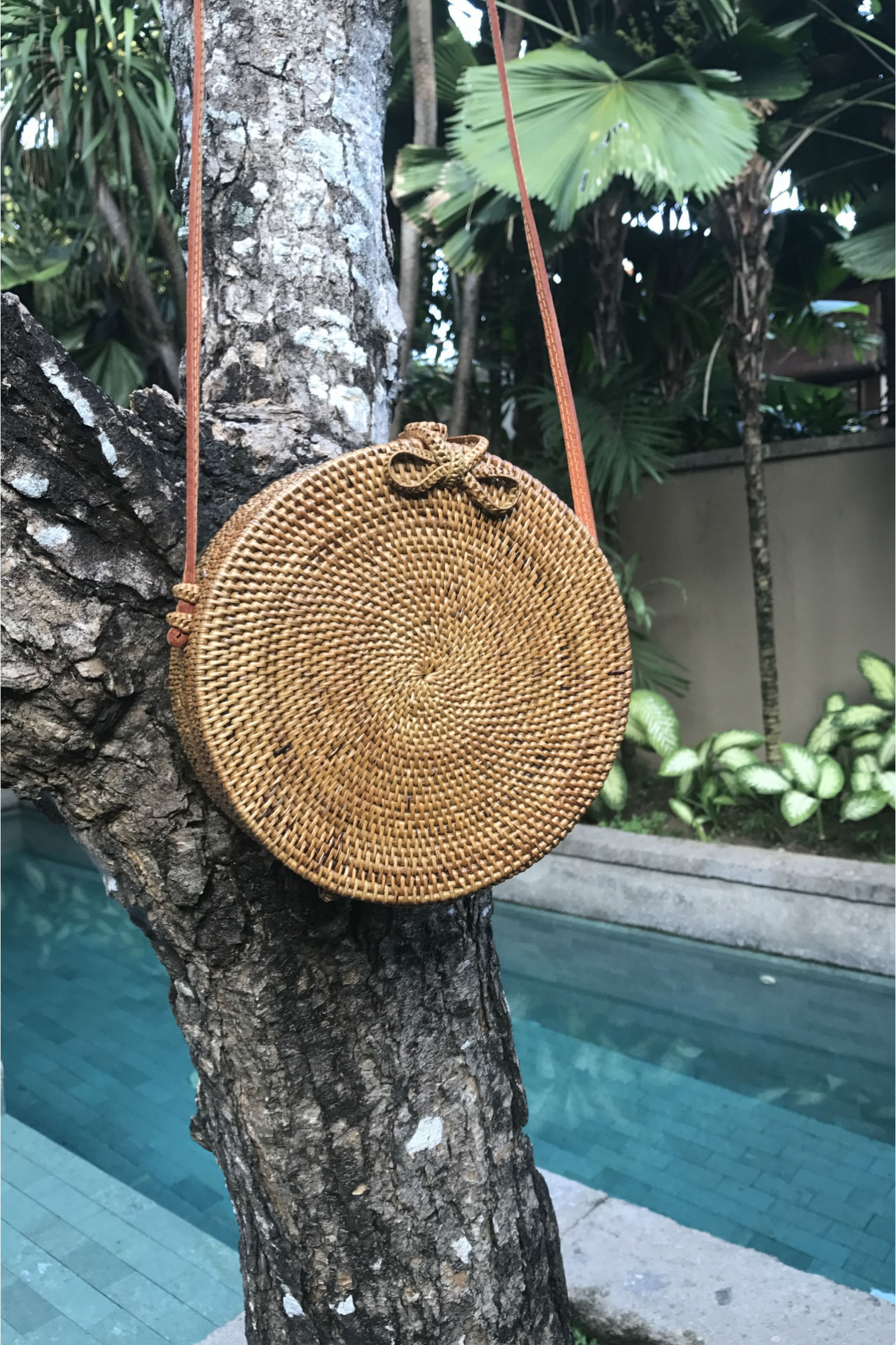 Alilia The Label Round Rattan Bag PRE ORDER