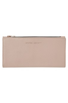 Status Anxiety In The Beginning Wallet Dusty PInk