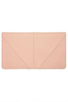Status Anxiety Triple Threat Wallet Dusty Pink