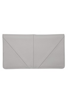 Status Anxiety Triple Threat Wallet Light Grey