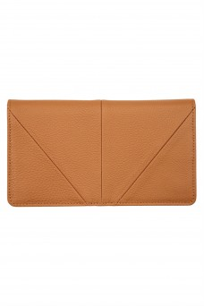 Status Anxiety Triple Threat Wallet Tan