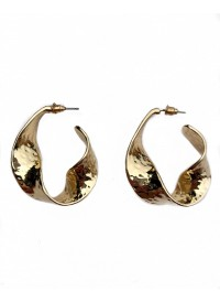 Smith The Label Atkins Hammered Hoops GOLD