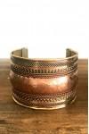 Alilia The Label Gold Brass Chunky Bracelet