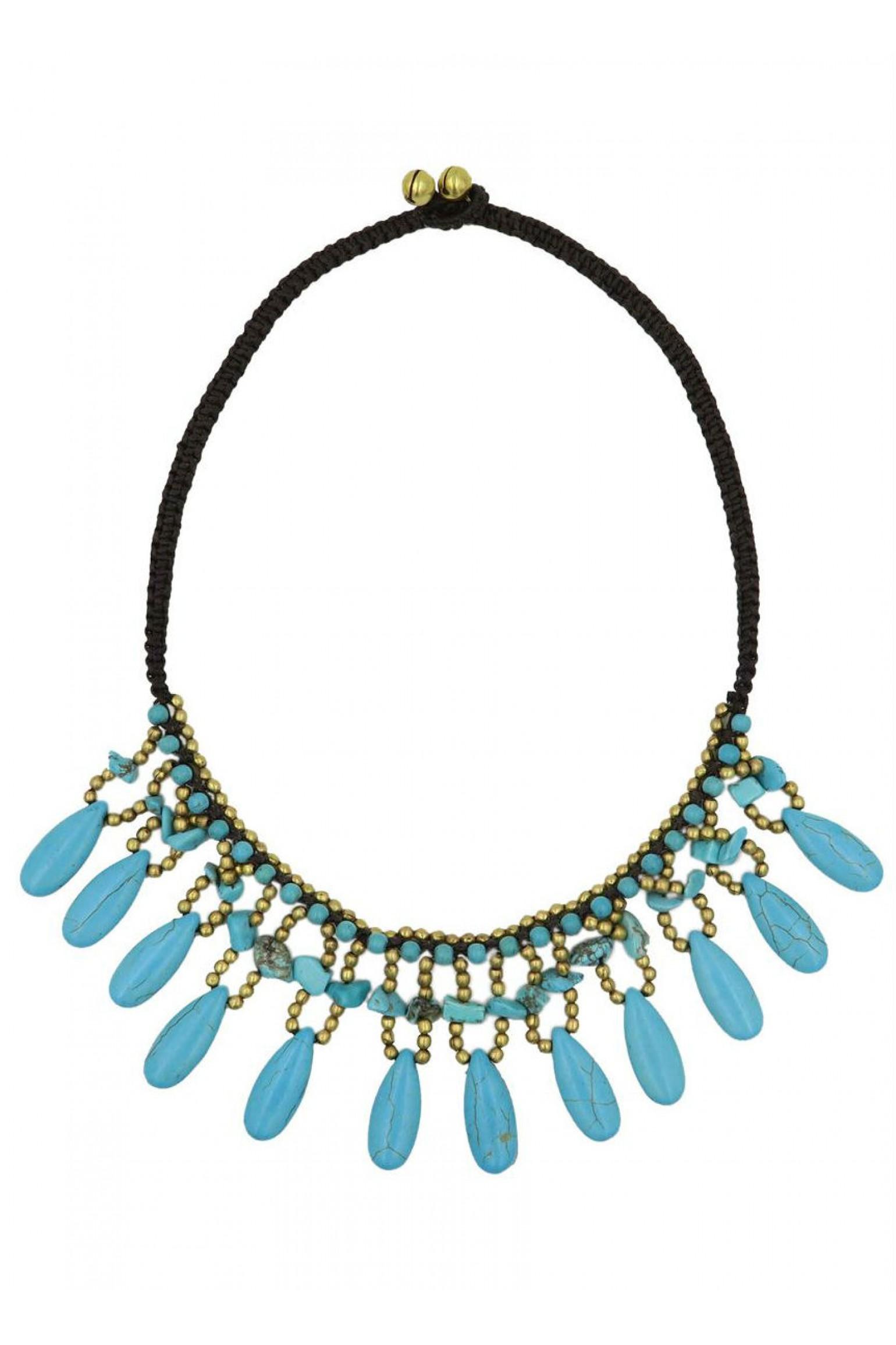 Alilia The Label Colour Me Blue Necklace