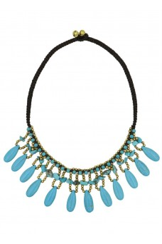 Alilia The Label Colour Me Blue Necklace