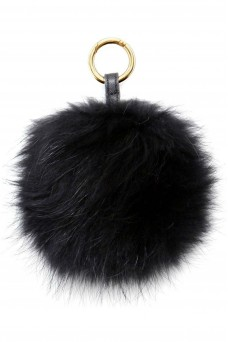 Fur Key Chain Fluffy Bomb
