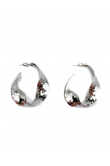 Smith The Label Atkins Hammered Hoops SILVER