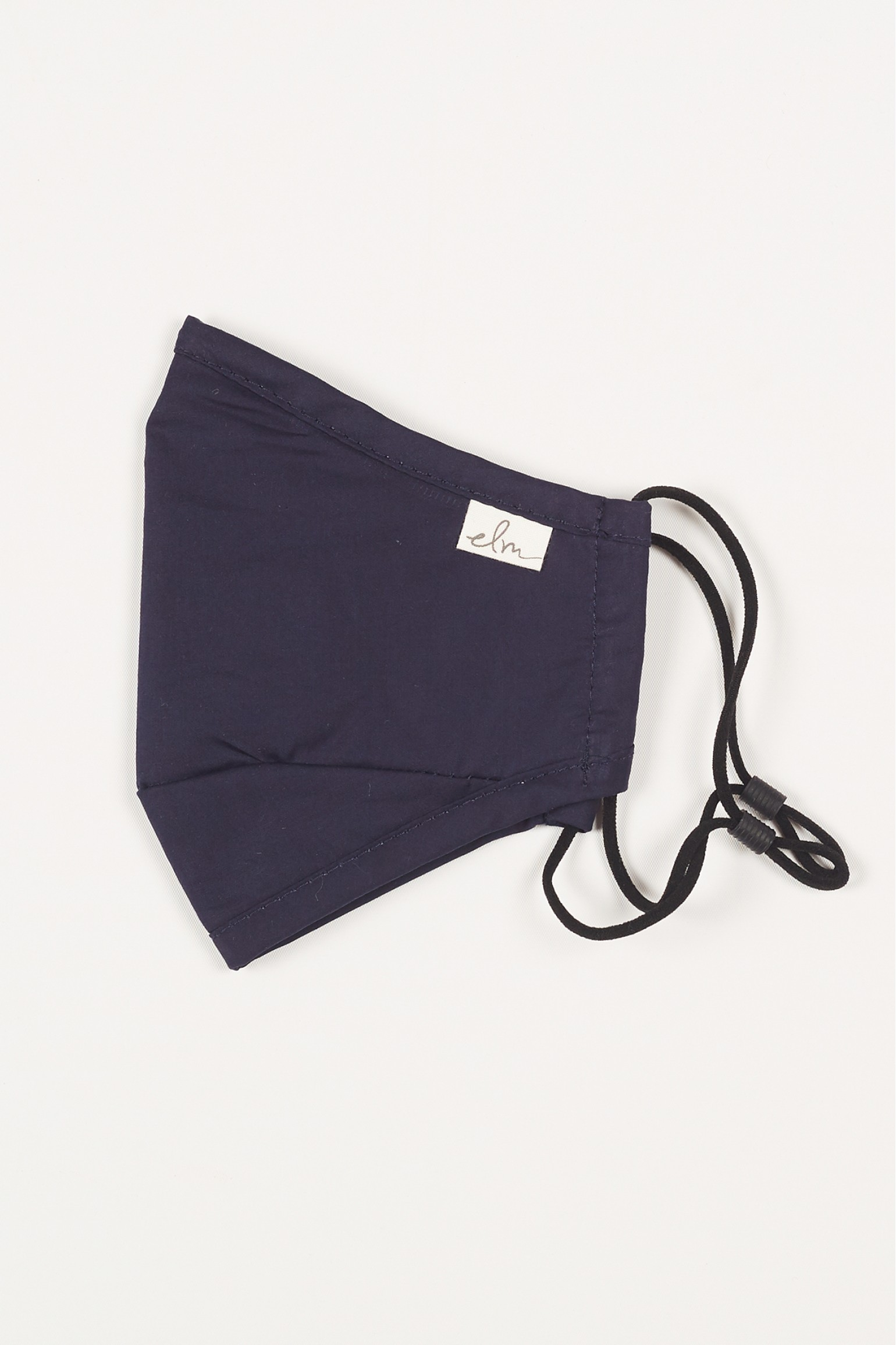 Elm Face Masks Solid Navy