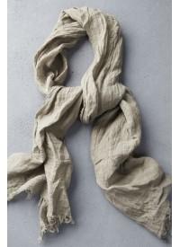 Atoliya Dilara Linen Scarf Taupe