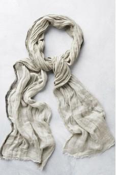 Atoliya Leyla Linen Scarf Sand
