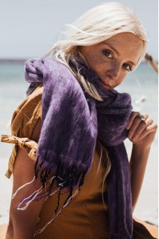 Hobo and Hatch Amethyst Shawl