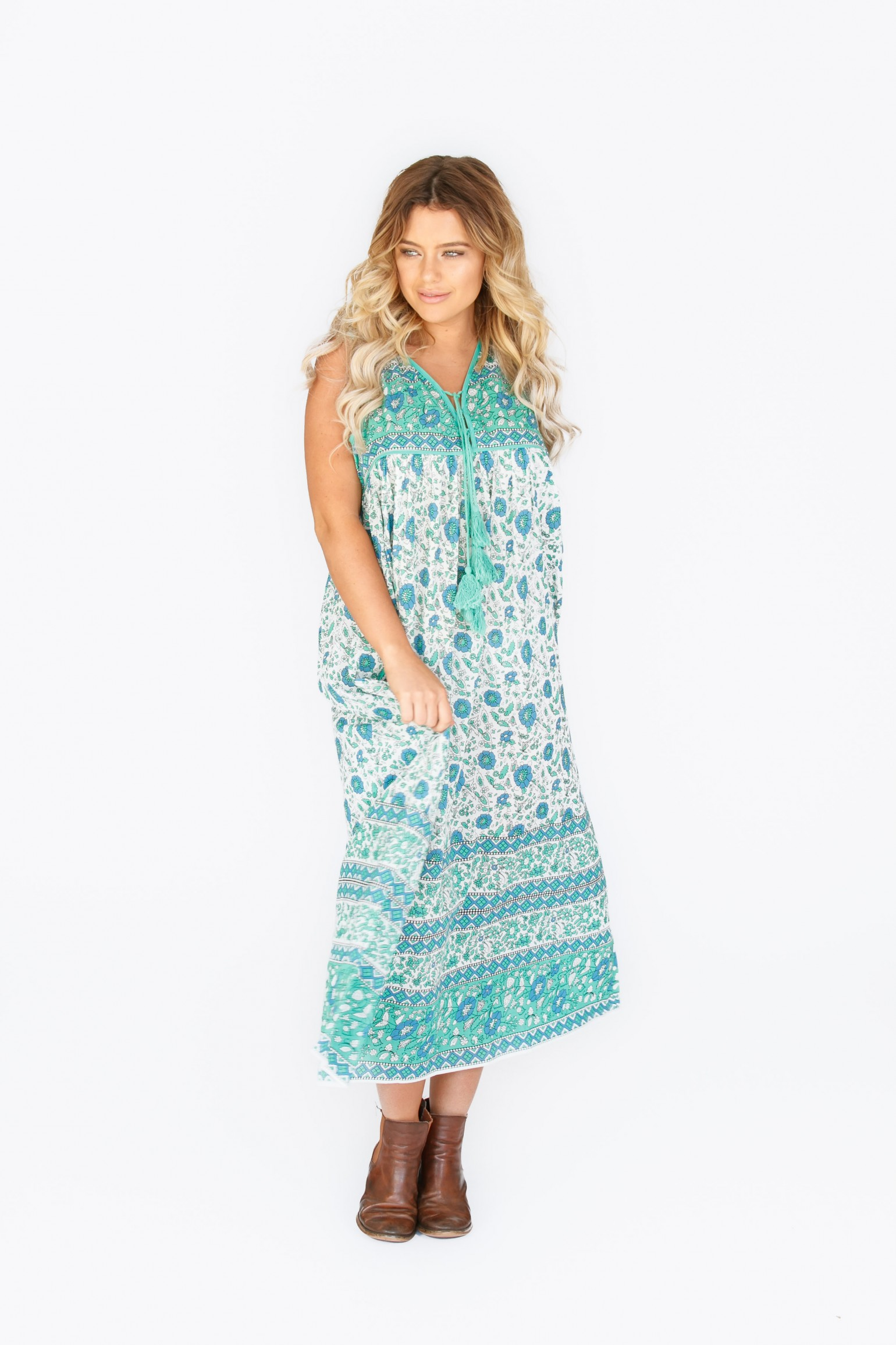 Little Miss Gypsy Kaya Sleeveless Dress