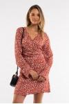 All About Eve Mini Bloom Twist Dress
