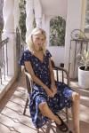Auguste The Label Desert Dandelion Grace Midi Dress