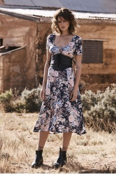 Auguste The Label Alice Day Dress Navy