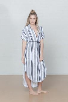 And She Was Hamiliton Stripe Dress