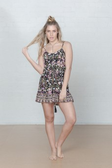 Arnhem Desert Flower Mini Dress