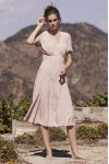 Auguste Clementine Bonne Midi Dress
