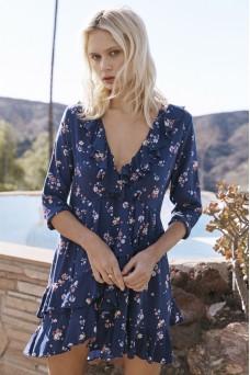 Auguste The Label Desert Dandelion Grace Mini Dress