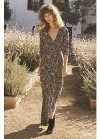 Auguste The Label Edie Sweetheart Wrap Maxi Dress