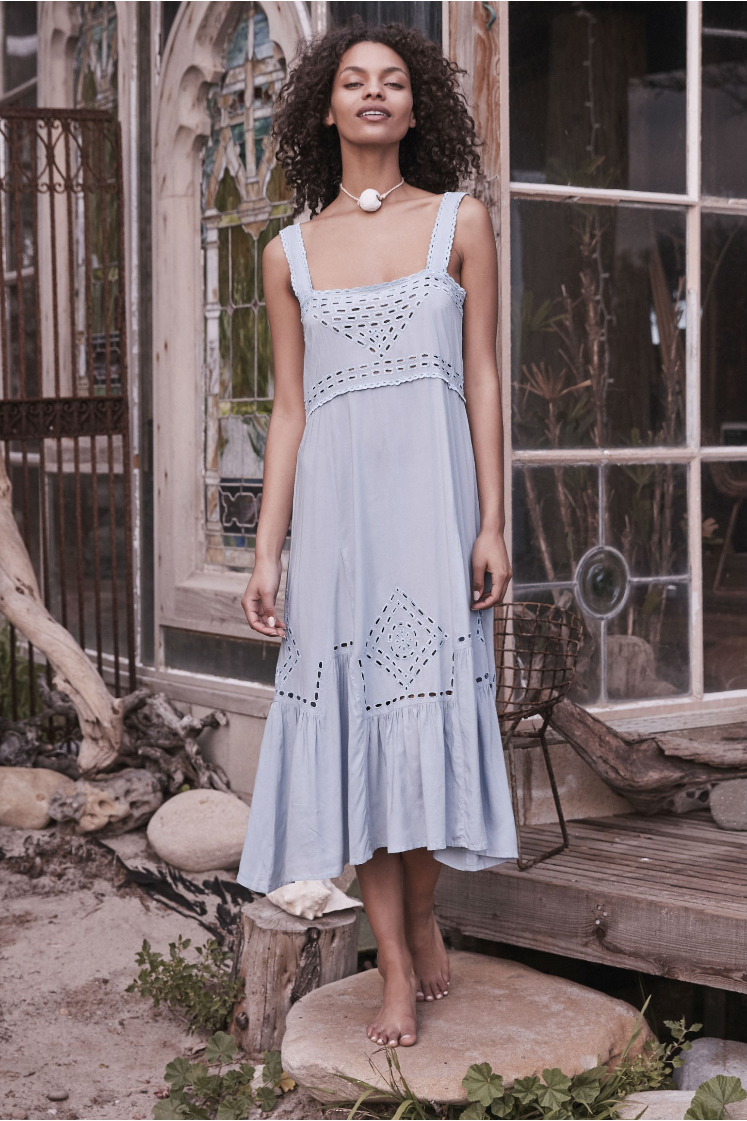 Auguste The Label Grace Broderie Day Dress