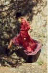 House of Skye Wrap Desert Rose Dress