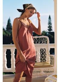 Auguste The Label Honey Midi Dress