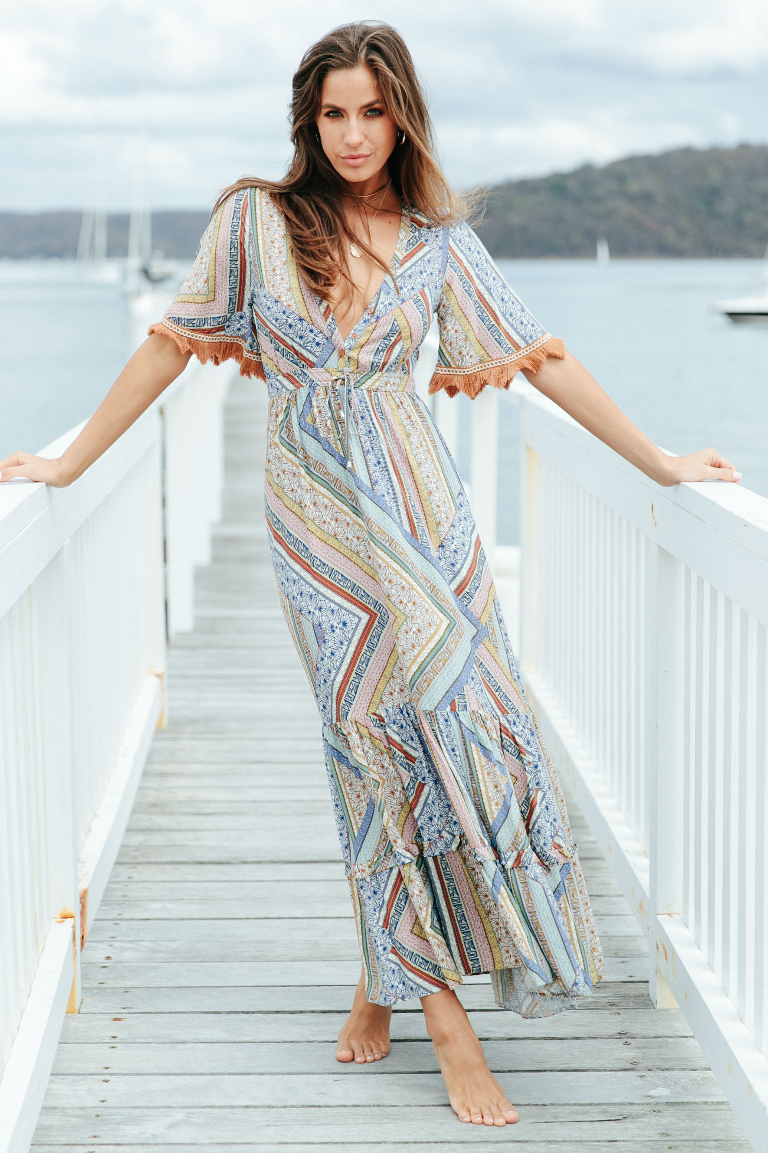 Jaase Ashland Maxi Dress