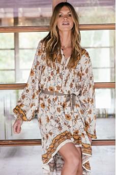Jaase French Midi Dress