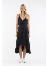 Jorge Dahlia Midi Wrap Dress
