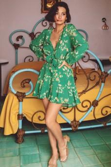 Kivari Melody Floral Tie Up Mini