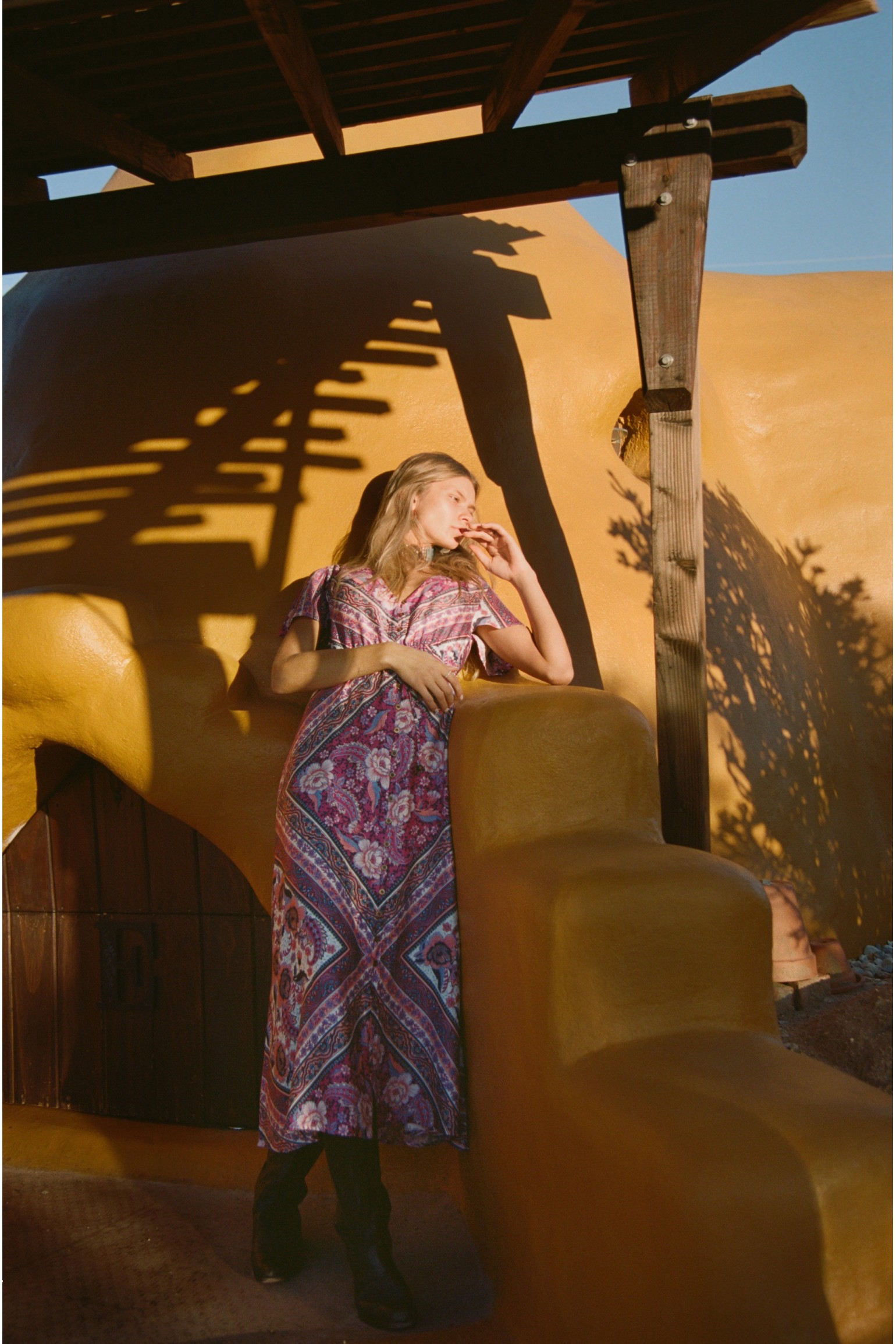 Arnhem Azalea Maxi Dress