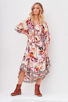 Jaase Fira Midi Dress