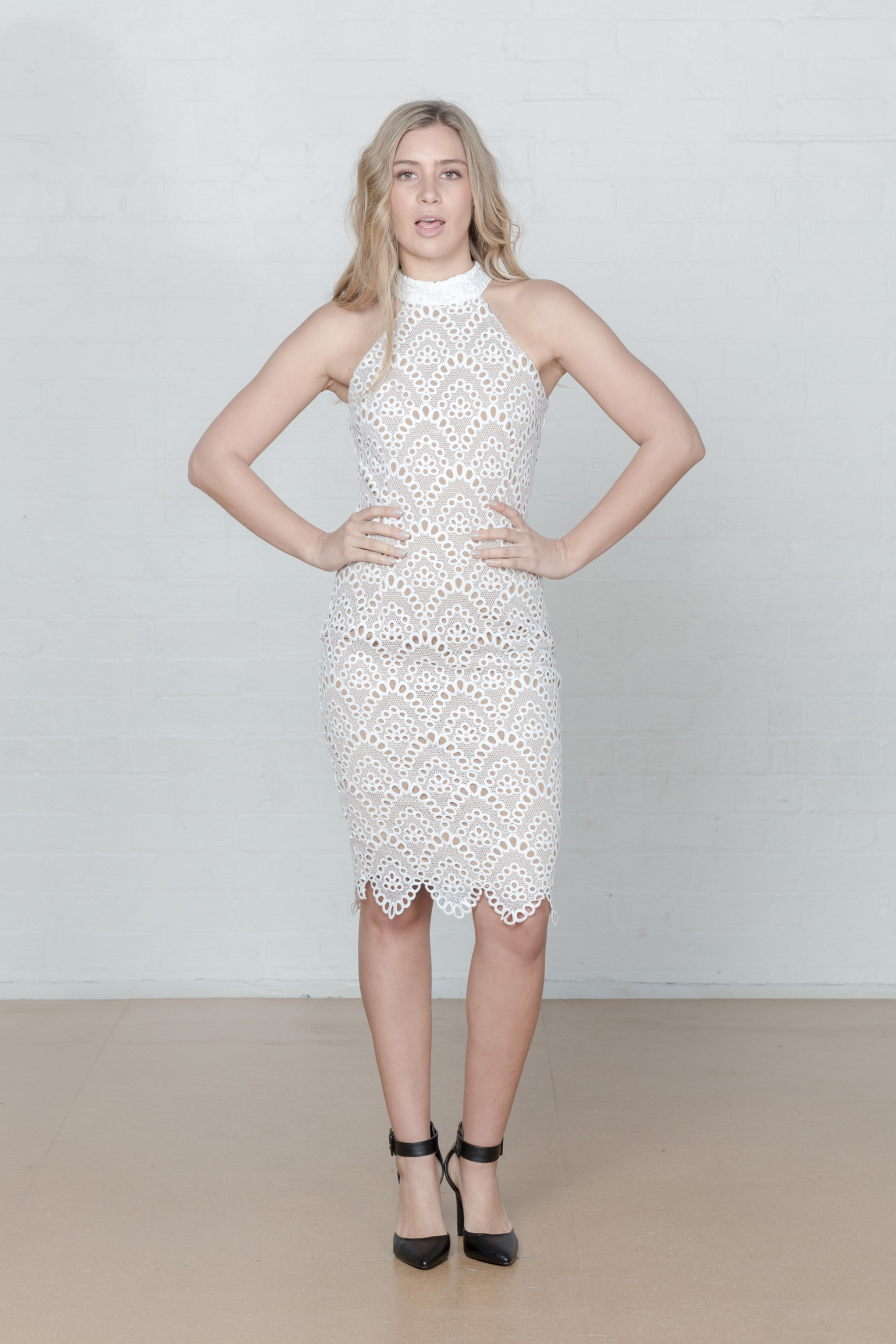 Ministry of Style Whisper Bodycon Dress