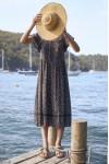 Auguste Morgan Delilah Midi Dress