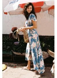 Auguste Cottage Muse Wrap Maxi Dress