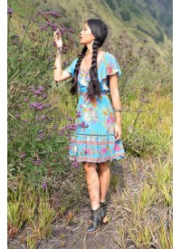 Tulle and Batiste Dahlia Mini Frill Dress