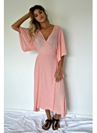 Gypsy and The Officer Pocket Full of Posies Wrap Dress