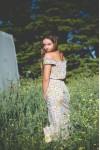 Vanilla Garden Maxi Dress