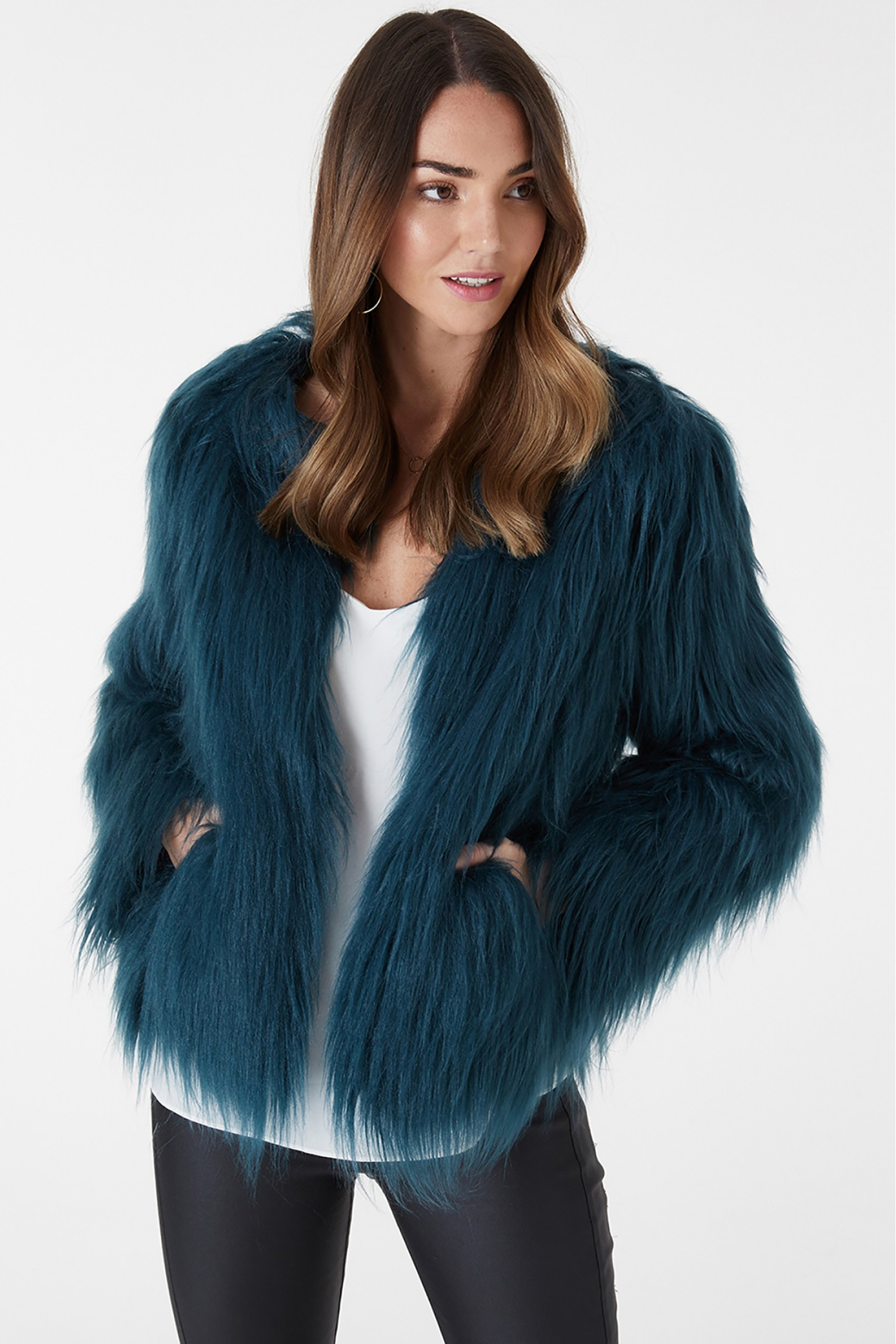 Everly Collective Marmont Faux Fur Jacket