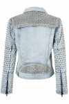 Auguste The Label Luca Studded Sleeve Jacket (PRE ORDER)