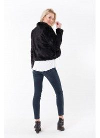 Jorge Faux Fur Black