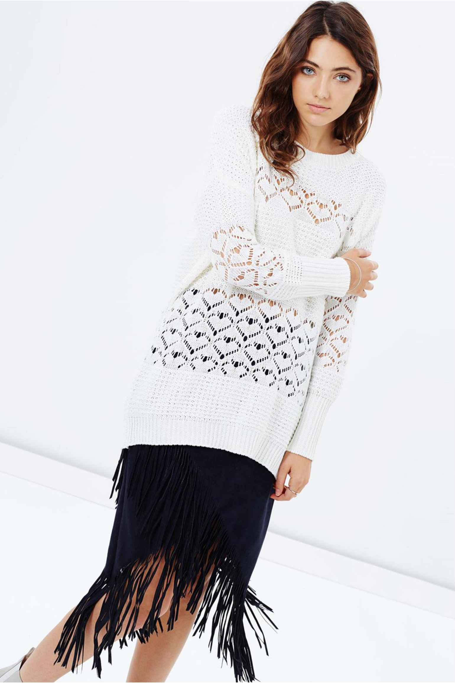 All About Eve Gypsy Love Knit White
