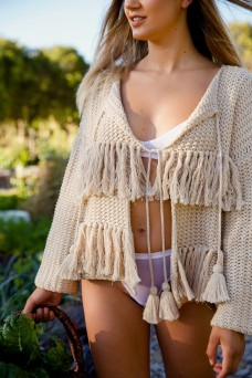 Indian Summer Co Novelle Cardigan