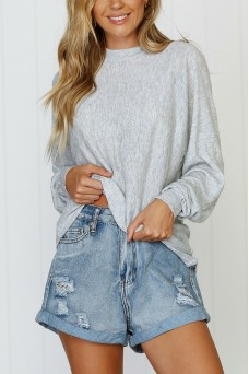 Lightweight Knit Grey